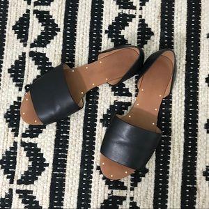 Madewell Thea black sandals